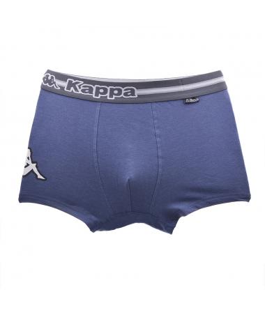 Boxeri De Barbati Kappa 54 Albastru Inchis - Trendmall.ro