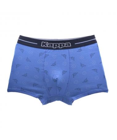 Boxeri De Barbati Kappa 90 Albastru Deschis - Trendmall.ro