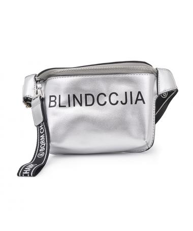 Borseta De Dama Blind Gri - Trendmall.ro