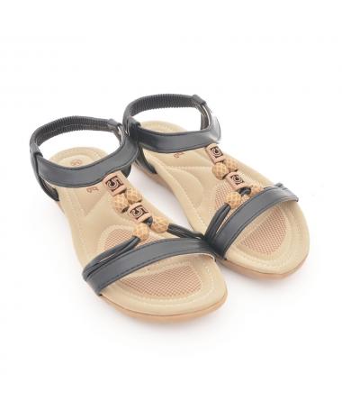 Sandale Cu Talpa Joasa De Dama Five Negre - Trendmall.ro