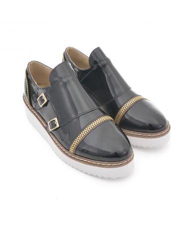 Pantofi Casual De Dama Catara Negri - Trendmall.ro