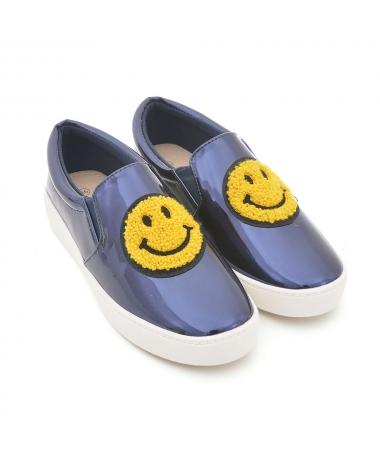 Espadrile De Dama Smile Albastre - Trendmall.ro