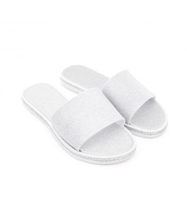 Papuci De Dama Zanis Arginti - Trendmall.ro