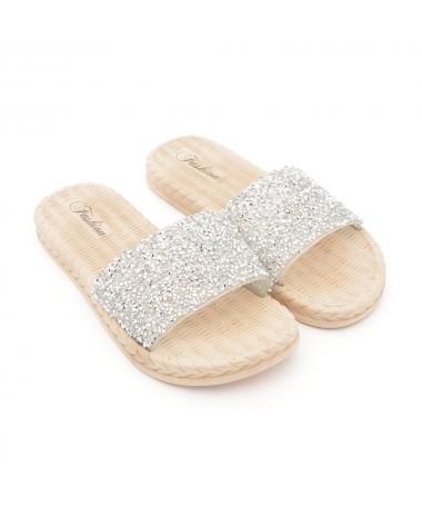 Papuci De Dama Sarma Arginti - Trendmall.ro