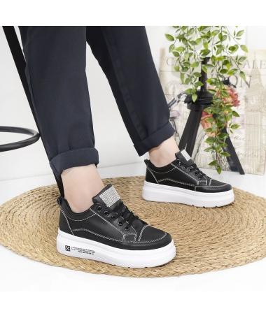 Pantofi Sport De Dama Adami Negri - Trendmall.ro