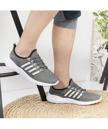 Pantofi Sport De Barbati Adrianis Gri - Trendmall.ro