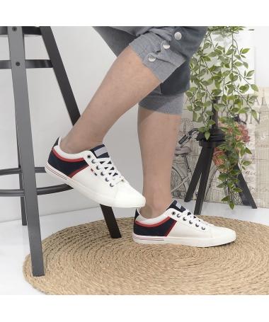 Pantofi Sport De Barbati Daris Alb - Trendmall.ro