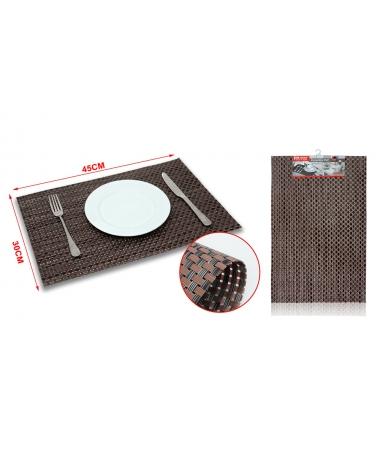 Suport Farfurie Masa, Culoare Maro, 30x45 cm - Trendmall.ro