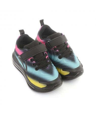 Pantofi Sport De Copii Actua Negru Cu Rosu - Trendmall.ro