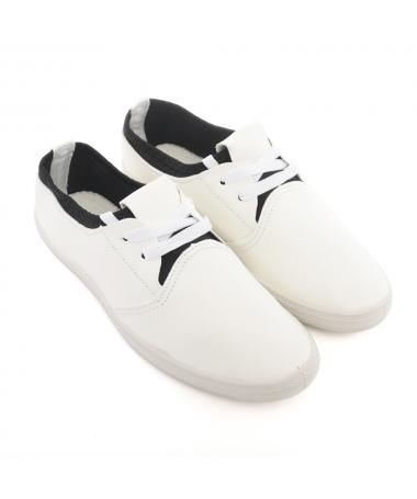 Pantofi Sport De Dama Pile Albi - Trendmall.ro