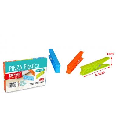 Set 12 Clesti De Rufe Din Plastic, 8.5x1CM - Trendmall.ro