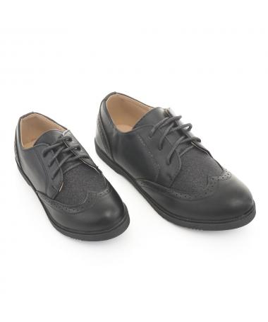 Pantofi Casual De Copii Fanias Negri - Trendmall.ro