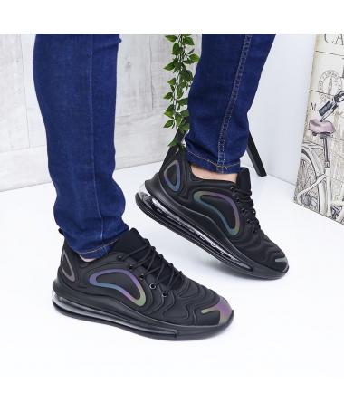 Pantofi Sport De Barbati Stone Negru Multicolor - Trendmall.ro