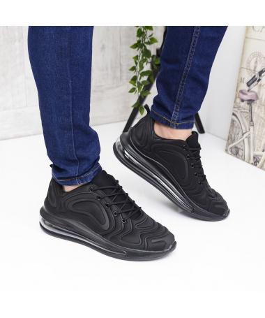 Pantofi Sport De Barbati Stone Negri - Trendmall.ro