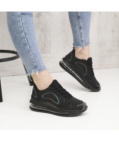 Pantofi Sport De Dama Stone Negru Multicolor - Trendmall.ro
