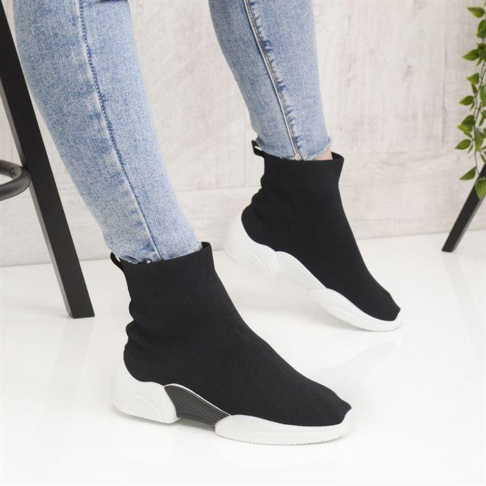 Pantofi Sport De Dama Senior Negri - Trendmall.ro