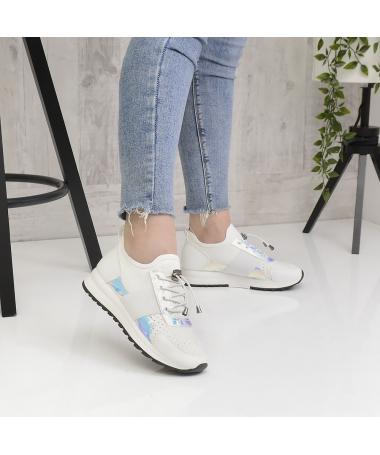 Pantofi Sport De Dama Habit Albi - Trendmall.ro
