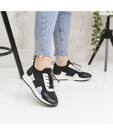 Pantofi Sport De Dama Habit Negri - Trendmall.ro