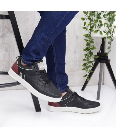 Pantofi Sport De Barbati Gordi Negri - Trendmall.ro