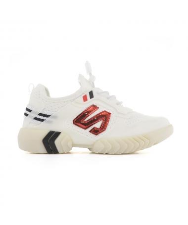 Pantofi Sport De Copii Nelly Albi - Trendmall.ro