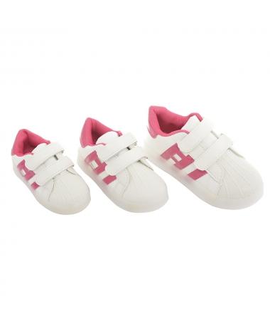 Pantofi Sport De Copii Haricleia Alb Cu Roz - Trendmall.ro