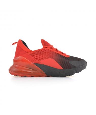 Pantofi Sport De Barbati Pops Rosu Cu Negru - Trendmall.ro