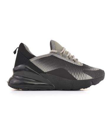 Pantofi Sport De Barbati Pops Negru Cu Gri - Trendmall.ro