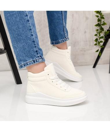 Pantofi Sport De Dama Ame 2 Albi - Trendmall.ro