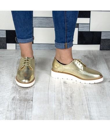 Pantofi De Dama Varna Aurii - Trendmall.ro