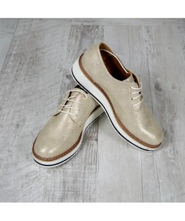 Pantofi De Dama Ayra Gold - Trendmall.ro