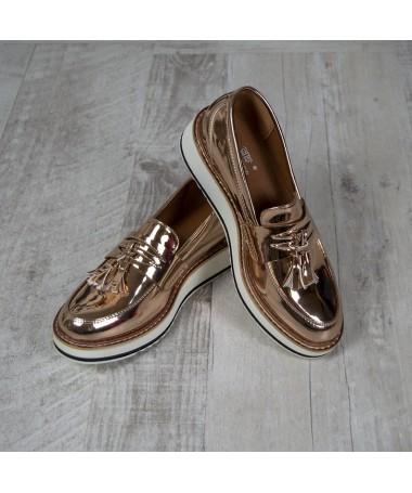Pantofi De Dama Daisy Champagne - Trendmall.ro