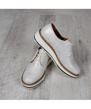 Pantofi De Dama Ayra Argintii - Trendmall.ro