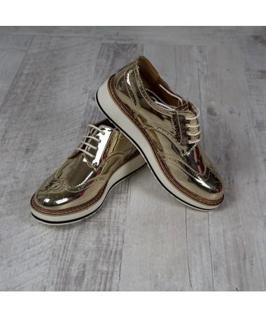 Pantofi De Dama Alma Gold - Trendmall.ro