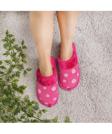 Papuci De Casa De Dama Dali Fuchsia - Trendmall.ro