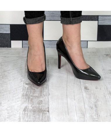 Pantofi Cu Toc Taffy Negri - Trendmall.ro