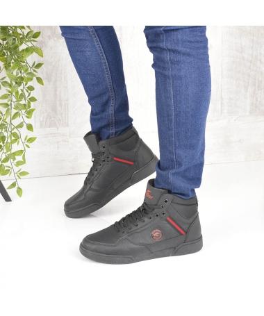 Pantofi Sport Imblaniti De Barbati Greni Negri - Trendmall.ro