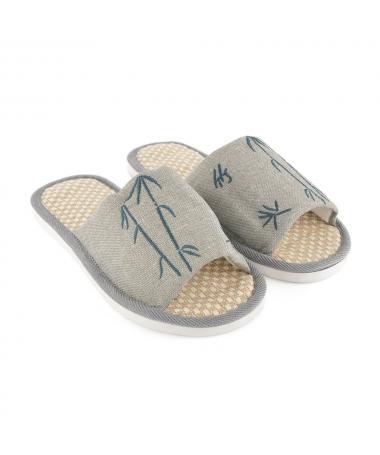 Papuci De Casa De Barbati Bambus - Trendmall.ro