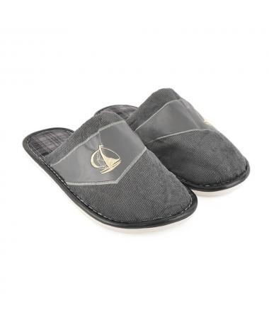 Papuci De Casa De Barbati Arcade Gri - Trendmall.ro