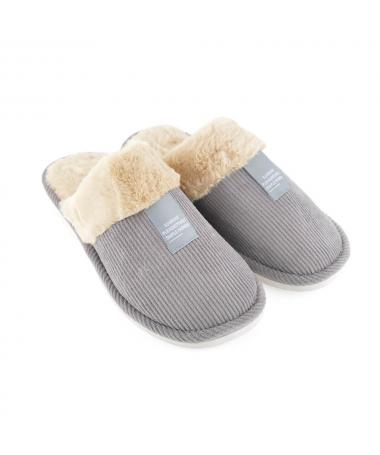 Papuci De Casa De Barbati Davonis Gri - Trendmall.ro