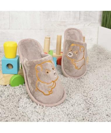 Papuci De Casa De Copii Minpig - Trendmall.ro