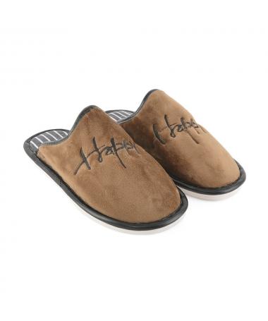 Papuci De Casa De Barbati Happy 2 - Trendmall.ro