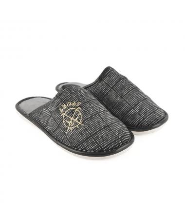 Papuci De Casa De Barbati Greg Gri - Trendmall.ro