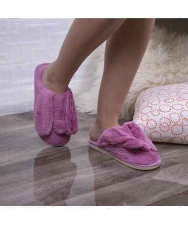 Papuci De Casa Eliana Roz - Trendmall.ro
