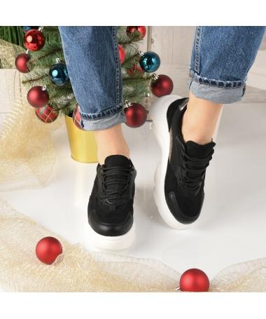 Pantofi Sport De Dama Osor Negri - Trendmall.ro