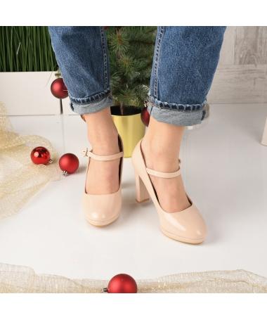 Pantofi De Dama Sareni Bej - Trendmall.ro