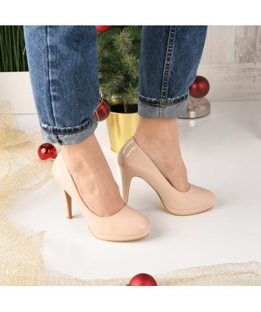 Pantofi De Dama Fior Bej - Trendmall.ro