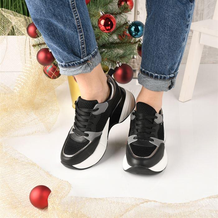 Pantofi Sport De Dama Decene Negri - Trendmall.ro
