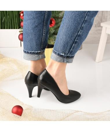 Pantofi De Dama Uben Negri - Trendmall.ro