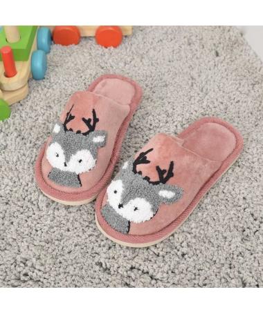 Papuci De Casa De Copii Minireni Roz - Trendmall.ro