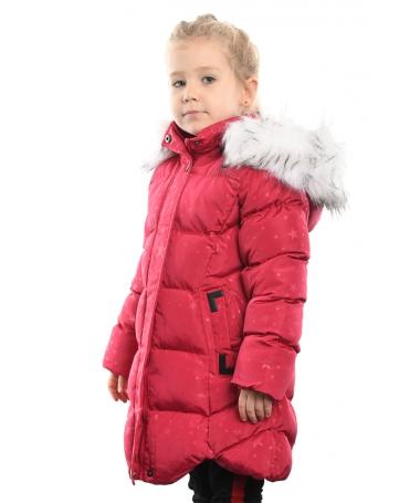 Geaca Lunga De Copii Sofia Rosie - Trendmall.ro